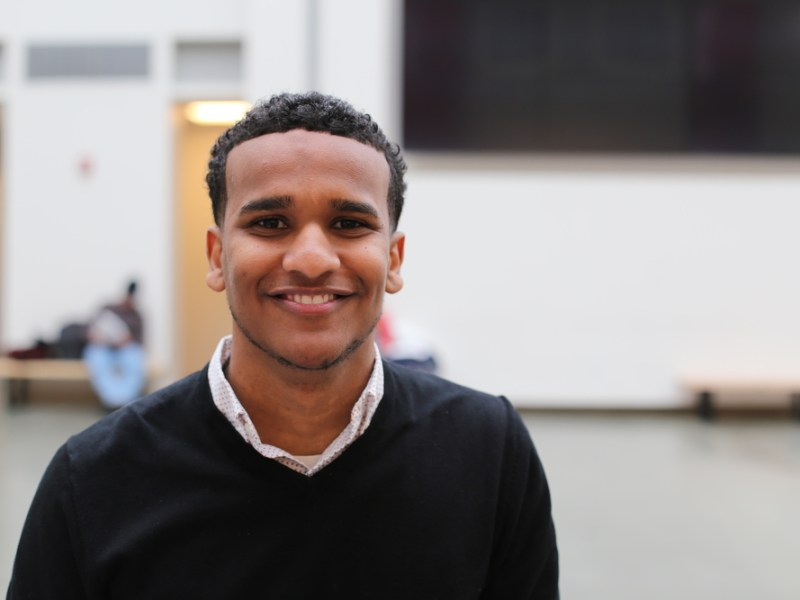 Ahmed Ahmed '17 was chosen as a 2017 Rhodes Scholar.