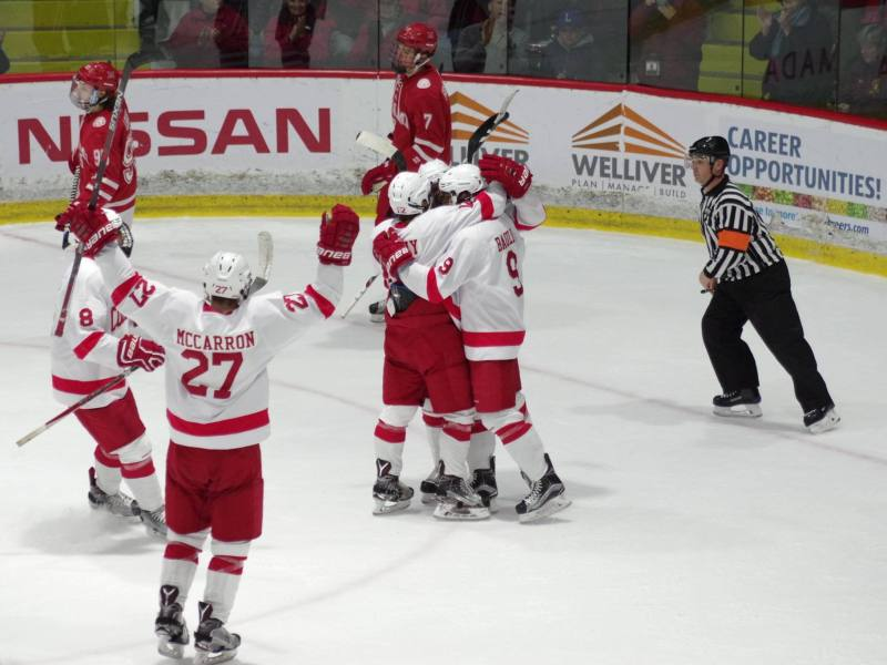 Freshman forward Noah Bauld's second career goal incited the rally that gave Cornell its fourth-straight win.