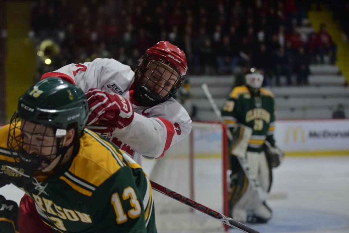 With something to prove, men's hockey welcomes Harvard and Dartmouth this weekend in two huge rivalry matchups.