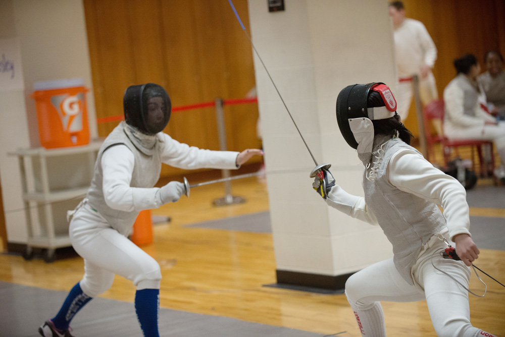 The fencers had a strong showing at Regionals, and at least one has already qualified for the NCAA Championships.