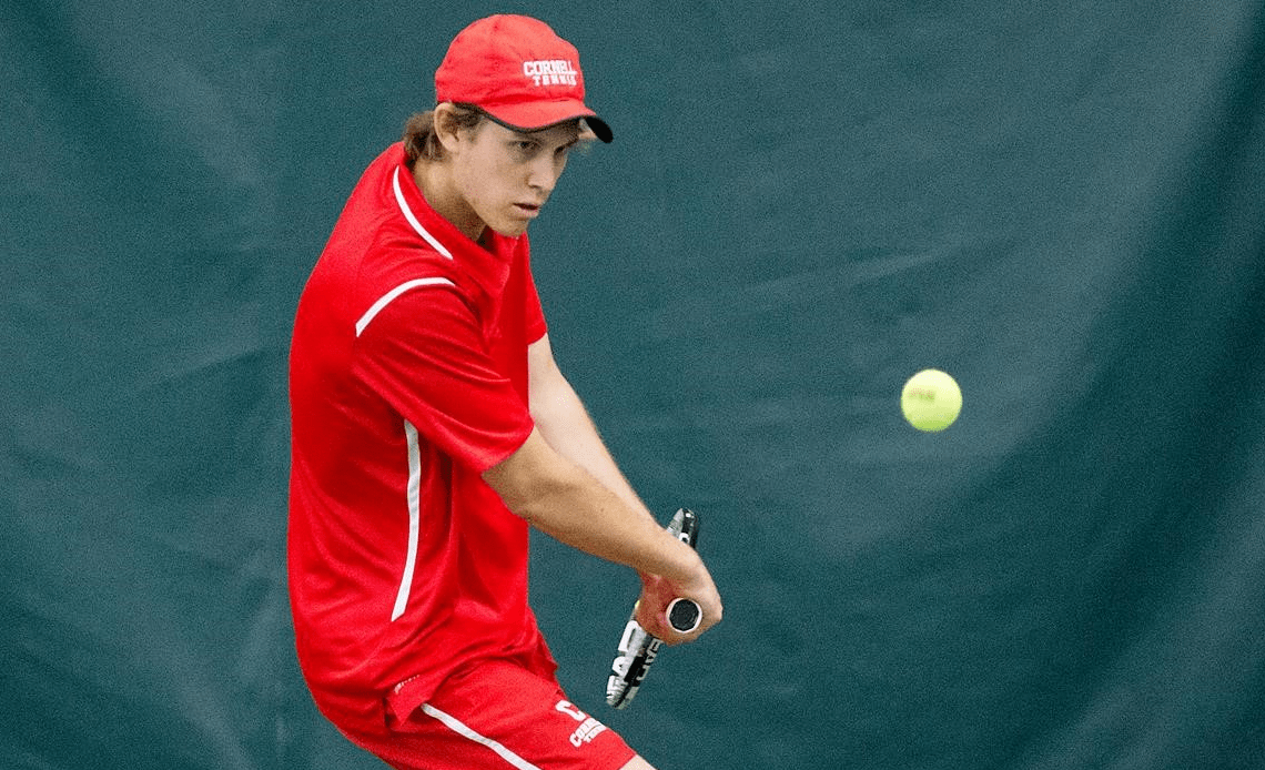 Another big victory for men's tennis leaves the team confident heading into Ivy play.