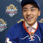 Song first skated on a mall ice rink in Beijing. Now, he heads to Lynah Rink