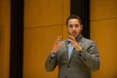 Ithaca Mayor Svante Myrick '09