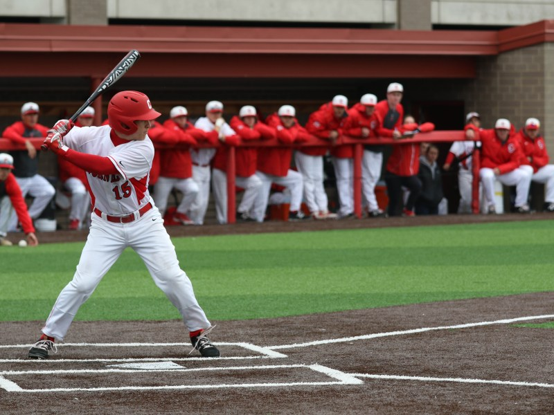 The Red's win over Binghamton secured a .500 record for the season.