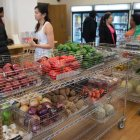 Students shop at Anabel's Grocery grand opening on May 7.