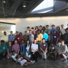 13 students from universities across the country came to Cornell for a week-long computer science workshop.
