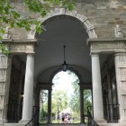 The Balch Arch welcomes students to North Campus.
