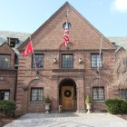 Cornell is investigating Psi Upsilon following the arrest of a student for assault, but the fraternity says its members were not involved.