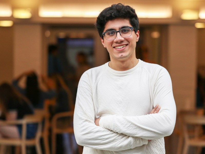 Abu Qader '21 describes balancing freshman year while running a software company remotely.