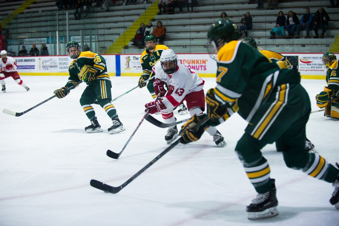 Cornell split the weekend after facing off against some familiar foes.