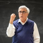 Professor Rocco Scanza, ILR, discusses the application of contemporary mediation techniques to the Cuban Missile Crisis at Ives Hall on October 23rd, 2017.