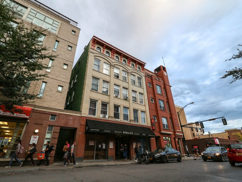 Common Council designated the Larkin Building at 403 College Ave., which last housed Stella's, as a local landmark on Wednesday.