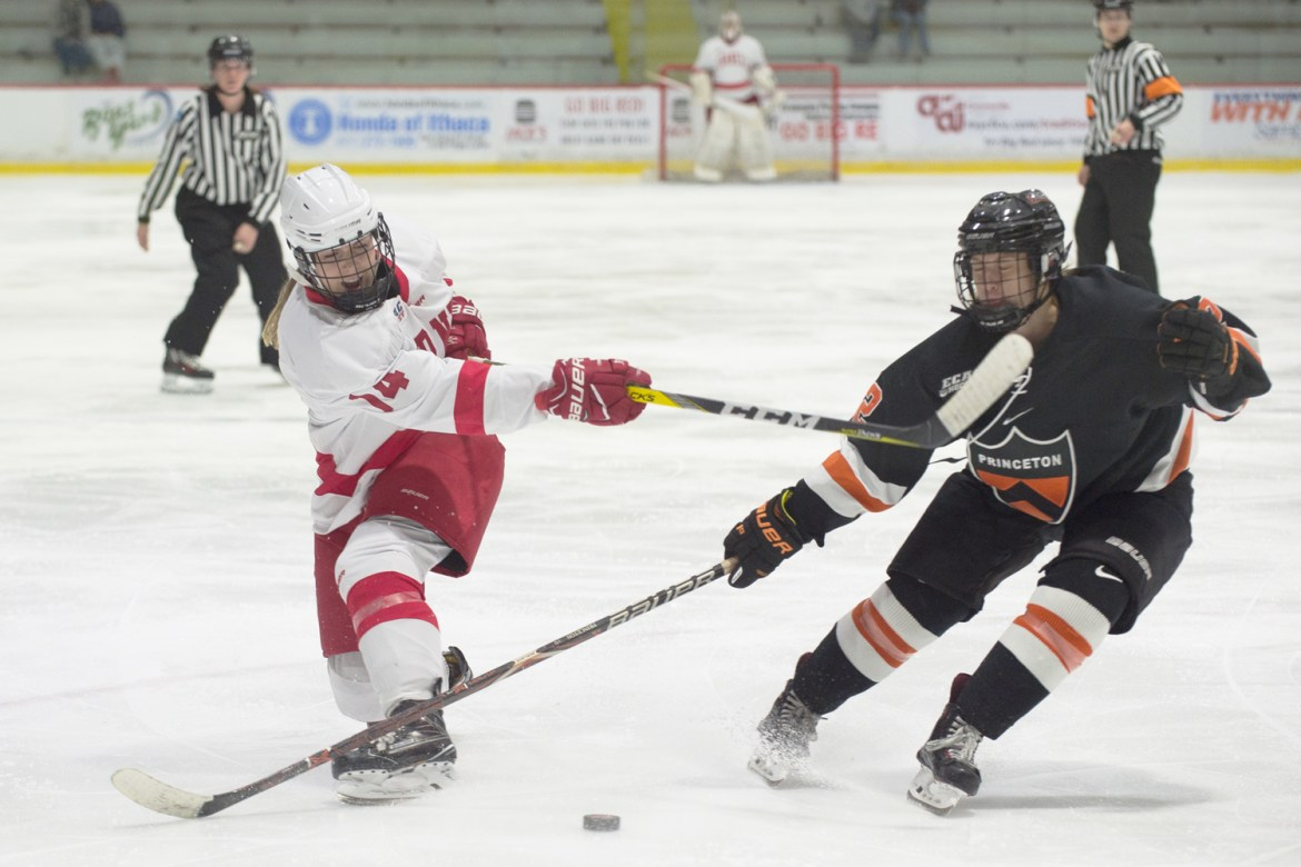 Cornell bounced back from last week's disappointing outing against Clarkson to give Lynah a welcome sight in its home opener.