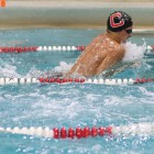 Evdokimov holds the record for the 100 and 200 breaststroke for Cornell and the Ivy League.
