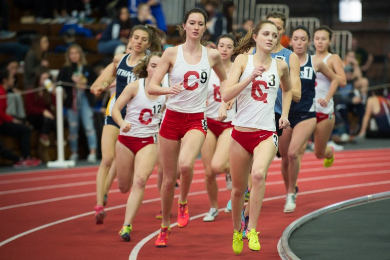 The Cornell women hosted their largest meet of the season in Barton Hall on Saturday, as the Kane Invitational featured more than 20 teams and 700 athletes. The Cornell women came away with seven event wins and more than 30 top five event finishes.