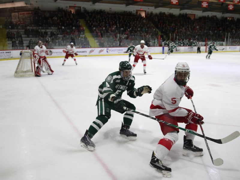 Junior defenseman Matt Nuttle earned his fourth straight game with a point as the Red bested ECAC opponent Brown in Providence.