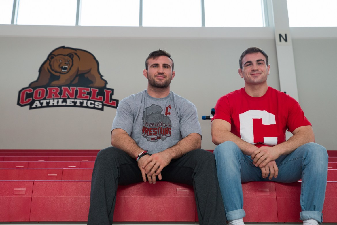 Max Dean (right) has quickly become more than Gabe Dean's (left) little brother.