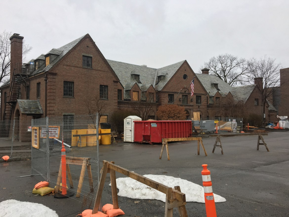 "The former fraternity house is undergoing renovations to be converted into a student center that the Psi Upsilon Board of Trustees hopes will ""promote diversity."""