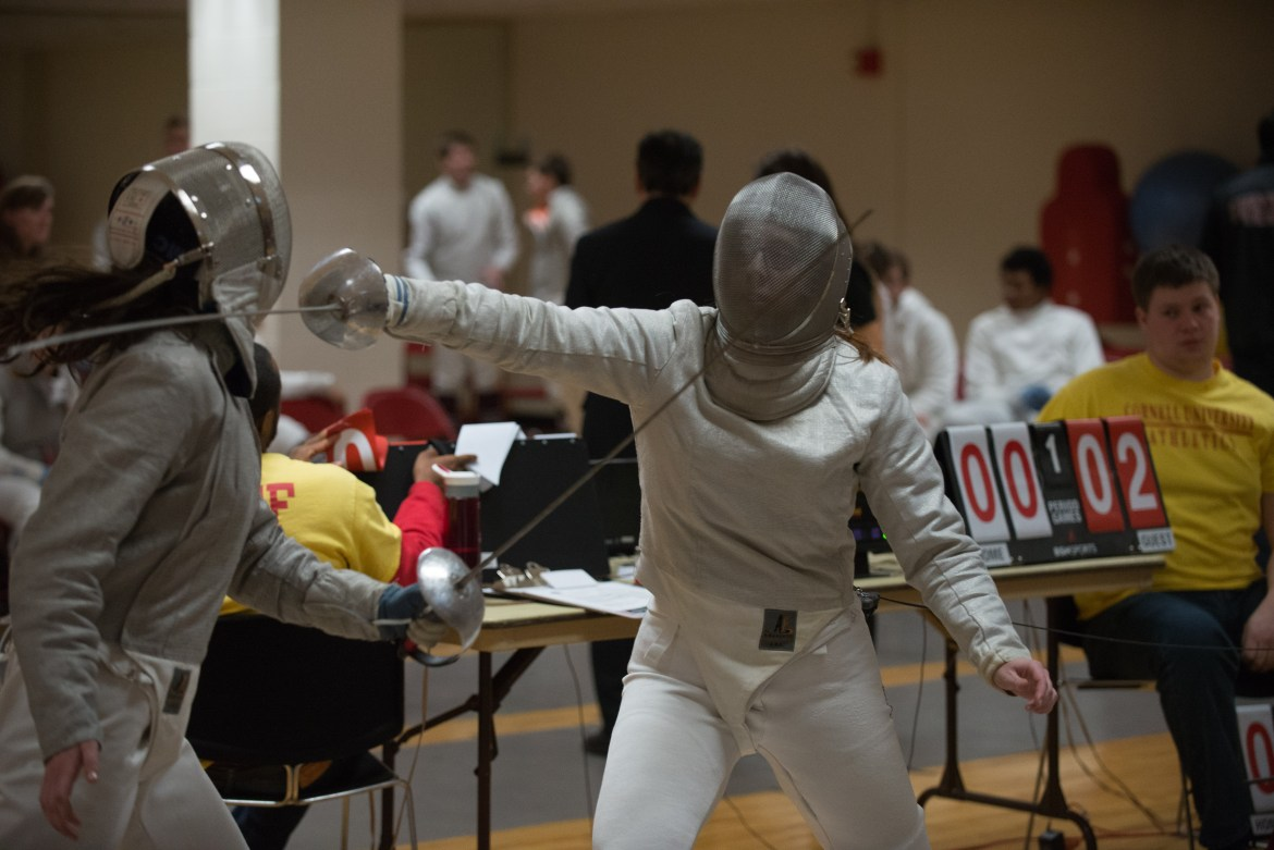 Freshman Fencers Gear Up for Nationals