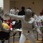 The Red sends two fencers to nationals this week.