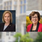 U.S. Sen. Kirsten Gillibrand (D-N.Y.) and President Martha E. Pollack will speak at a forum on to increase students' understanding of sexual harassment in the workforce.