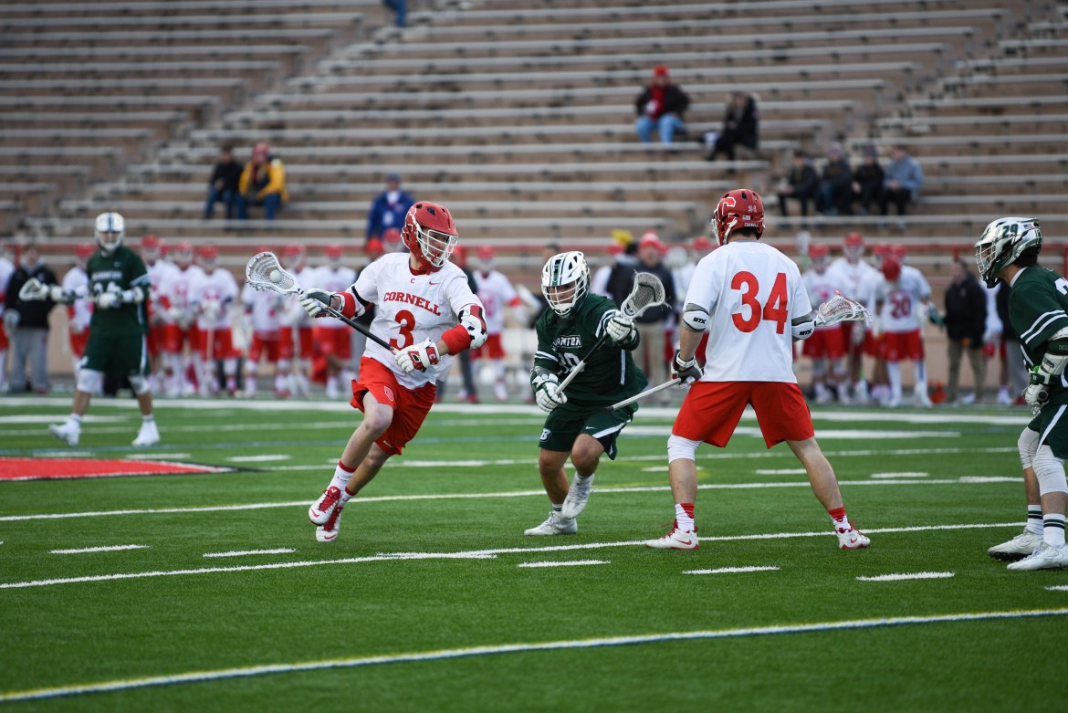 Midfielder Jonathan Donville has punched well above his weight as a  freshman, scoring at least three points in six consecutive games.