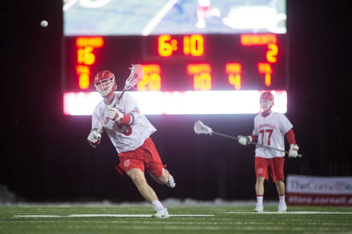 Cornell has already won two Tuesday night games at home this year.