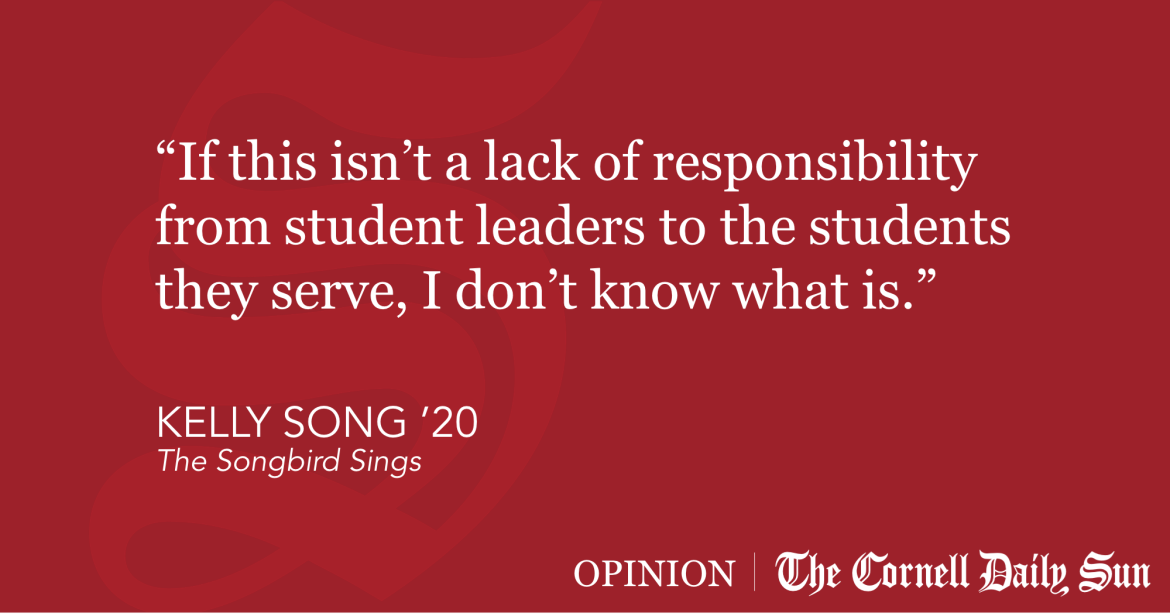 SONG | Cornell Student Leaders, Get Your Priorities Straight