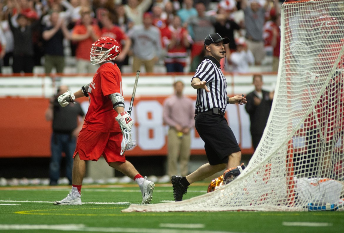 Cornell's season has come to an end after reaching the NCAA quarterfinal.