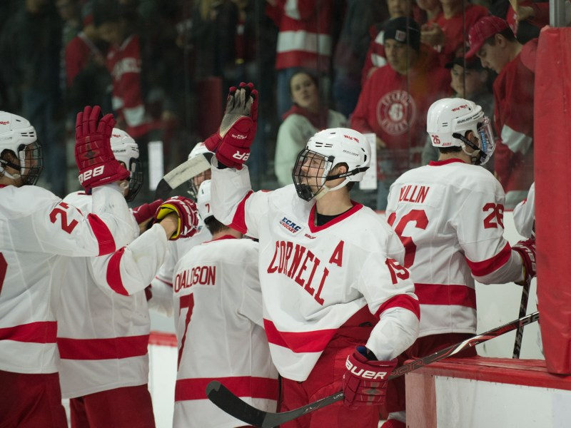 2018-19 for Cornell starts against Michigan State and ends (hopefully) at the Frozen Four in Buffalo.