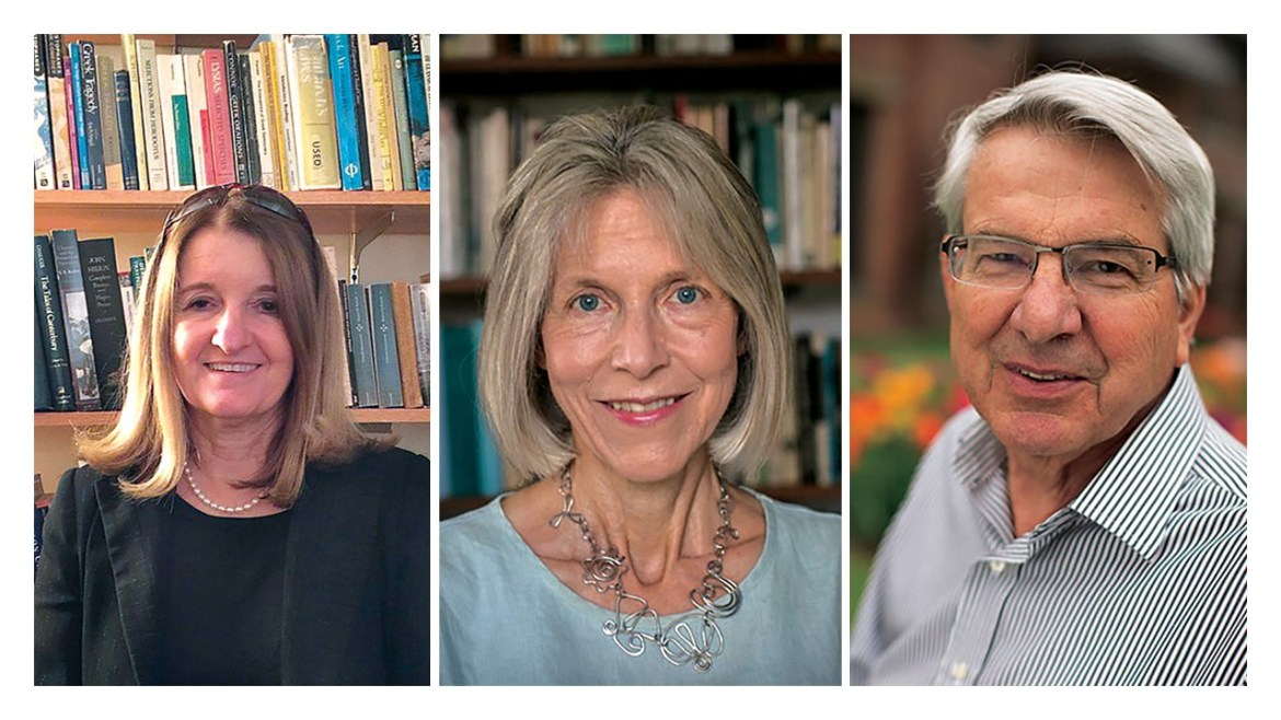 Cornell professors Cathy Caruth, Cynthia Chase and Jonathan Culler (left to right) are among those who signed a letter of support for NYU professor Avital Ronnell when she was accused of sexual harassment.