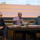 Prof. Jeremy Wallace, Prof. John Weiss and Prof. Magnus Fiskesjö conduct an open discussion about China's Xinjiang.