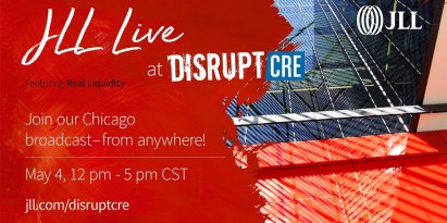 Livestream from DisruptCRE in Chicago 12:00 PM CT Thursday May 4