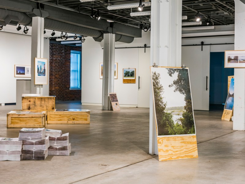 Installation view at Bolivar Art Gallery, Lexington, KY 2018