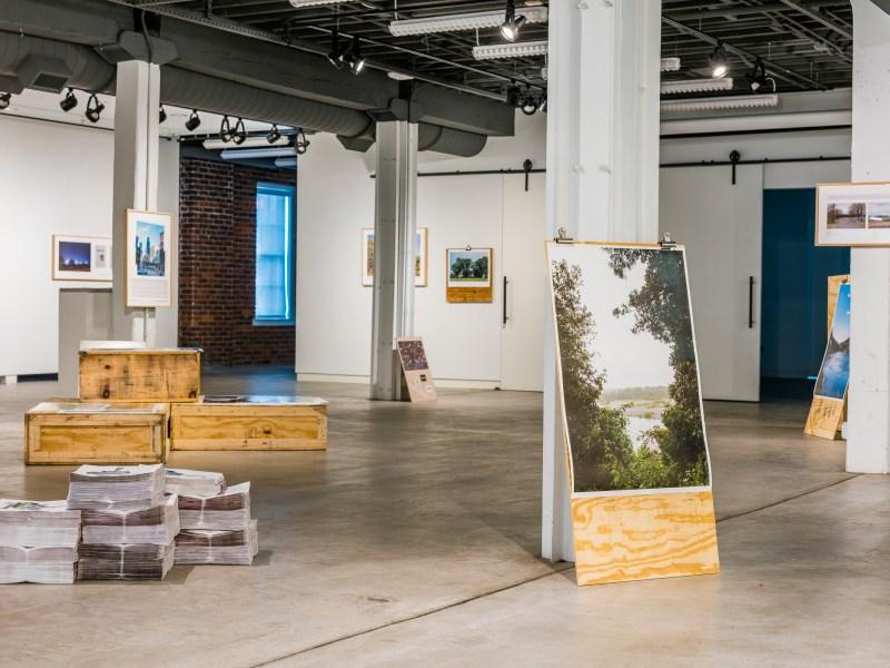 Installation view at Bolivar Art Gallery, Lexington, KY 2018