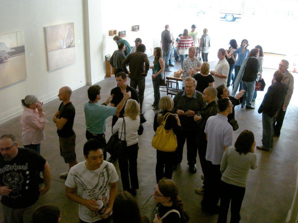 Art Hop opening reception