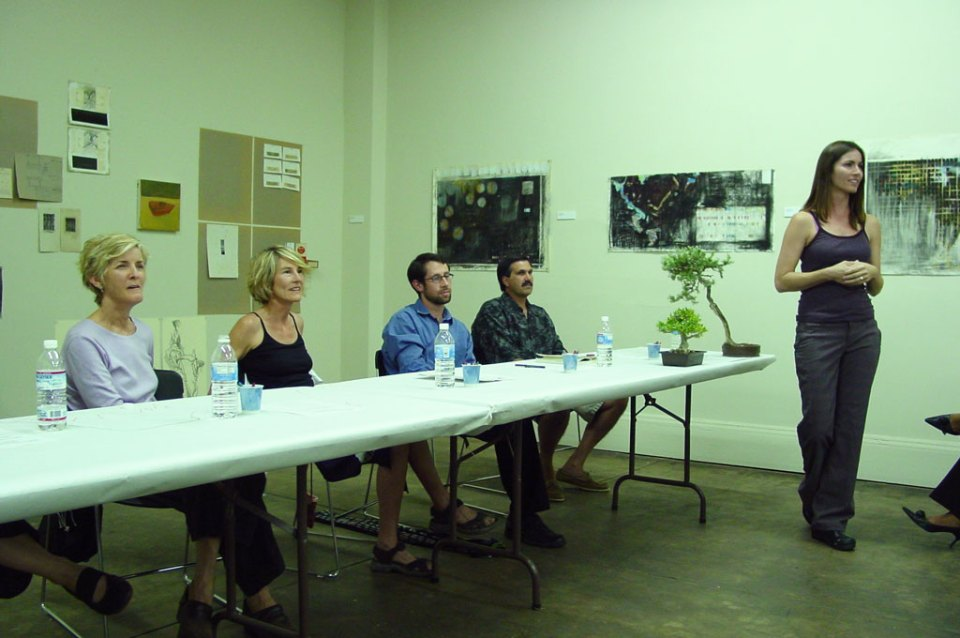 Panel discussion on drawing and its contemporary practice.