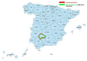Provincias DOP Los Pedroches