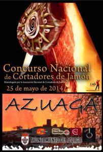 VIII Concurso de Cortadores de Jamón Azuaga 2014