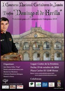 I Concurso Nacional de Cortadores de Jamón Trofeo Domingo el de Herilla