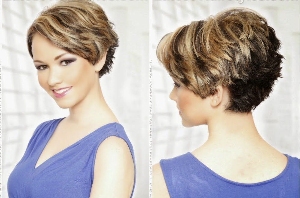 Corte de cabelo curto #884