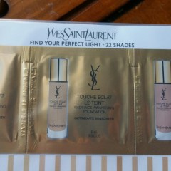 YSL Touche Éclat Radiance Awakening Foundation with Sunscreen – Warm Beige (BD25), Bisque (B45), and Cool Beige (BR45): Swatches and Review