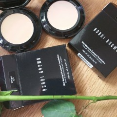 Bobbi Brown New for 2016 Skin Moisture Compact Foundation in Cool Ivory (1.25) and Beige (3): Review and Swatches