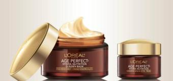 L'Oreal Age Perfect Golden Balm For Winter 2012