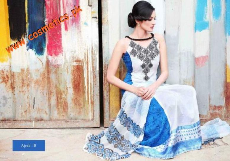 Hira Lari Summer Collection For Women 2012 By Afroz Textiles. (7)