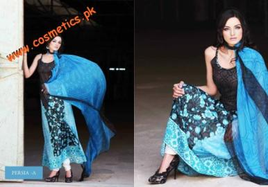 Hira Lari Summer Collection For Women 2012 By Afroz Textiles. (4)