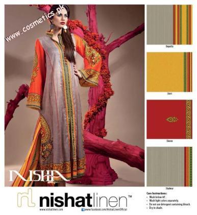 Nishat Linen Summer Collection For Women 2012. (8)