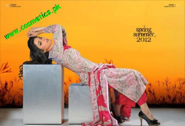 Rashid Textiles Classic Lawn For summer 2012. (3)