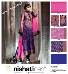 Nishat Linen Summer Collection For Women 2012. (7)