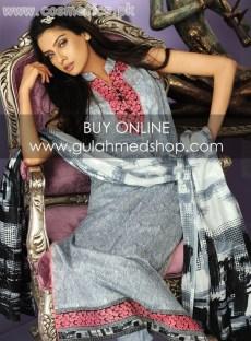 Gul Ahmed Latest Lawn Prints For Women 2012 003